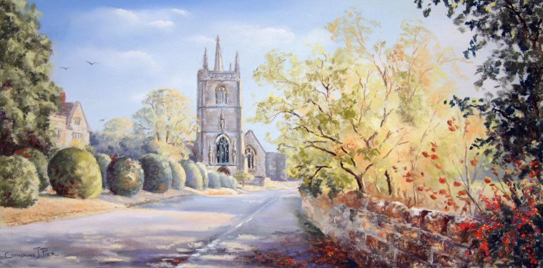 Landscape Paintings Of The Cotswolds And Wiltshire